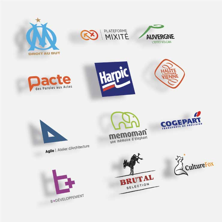 Exemples de logotypes